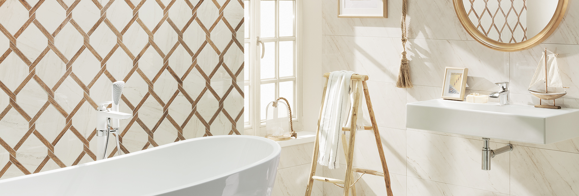 Ceramic tile and sanitary ware